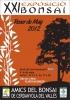 Cartel XXI Exposicion Bonsai Roser de Maig