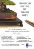 Cartel Congreso Gallgo de Bonsai 2012